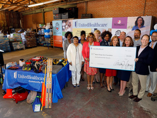 Baton Rouge Area Foundation Receives $250,000 Grant from UnitedHealthcare to Help with Relief and Re