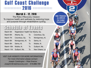 Injured Veterans to Cycle Over 400 Miles from Atlanta to New Orleans