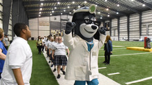 UnitedHealthcare and New Orleans Saints provide an All-Abilities Junior Training Camp Experience for