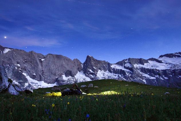 Soir d'été en alpage