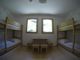 Des tout petits dortoirs