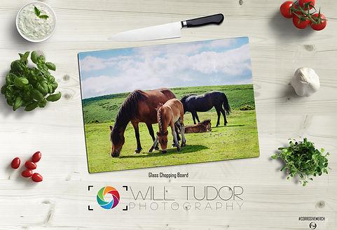 Dartmoor Pony 1 Chopping Board Mock up.j