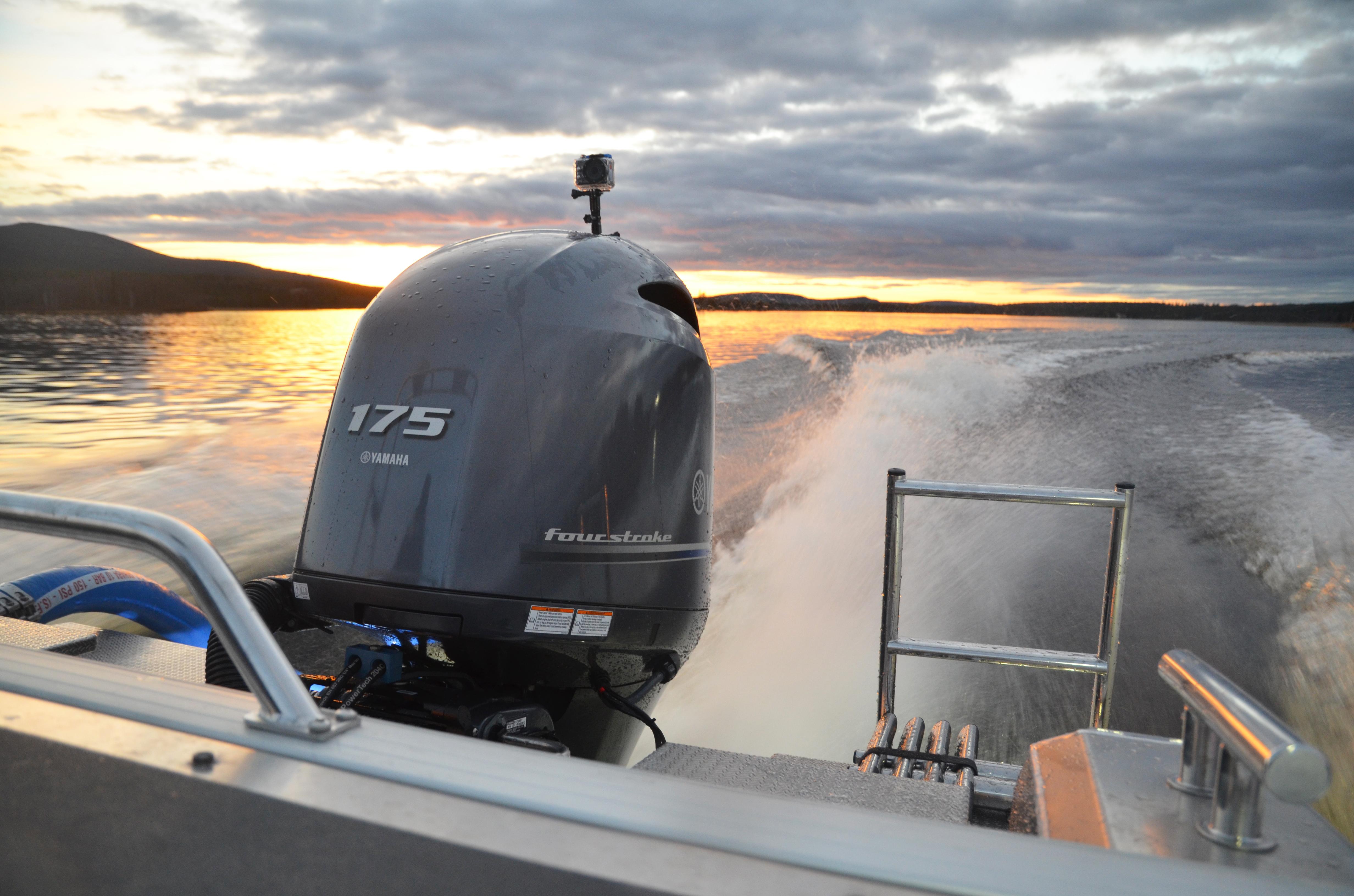 Motor Nordic Rescue Boat 175 hp