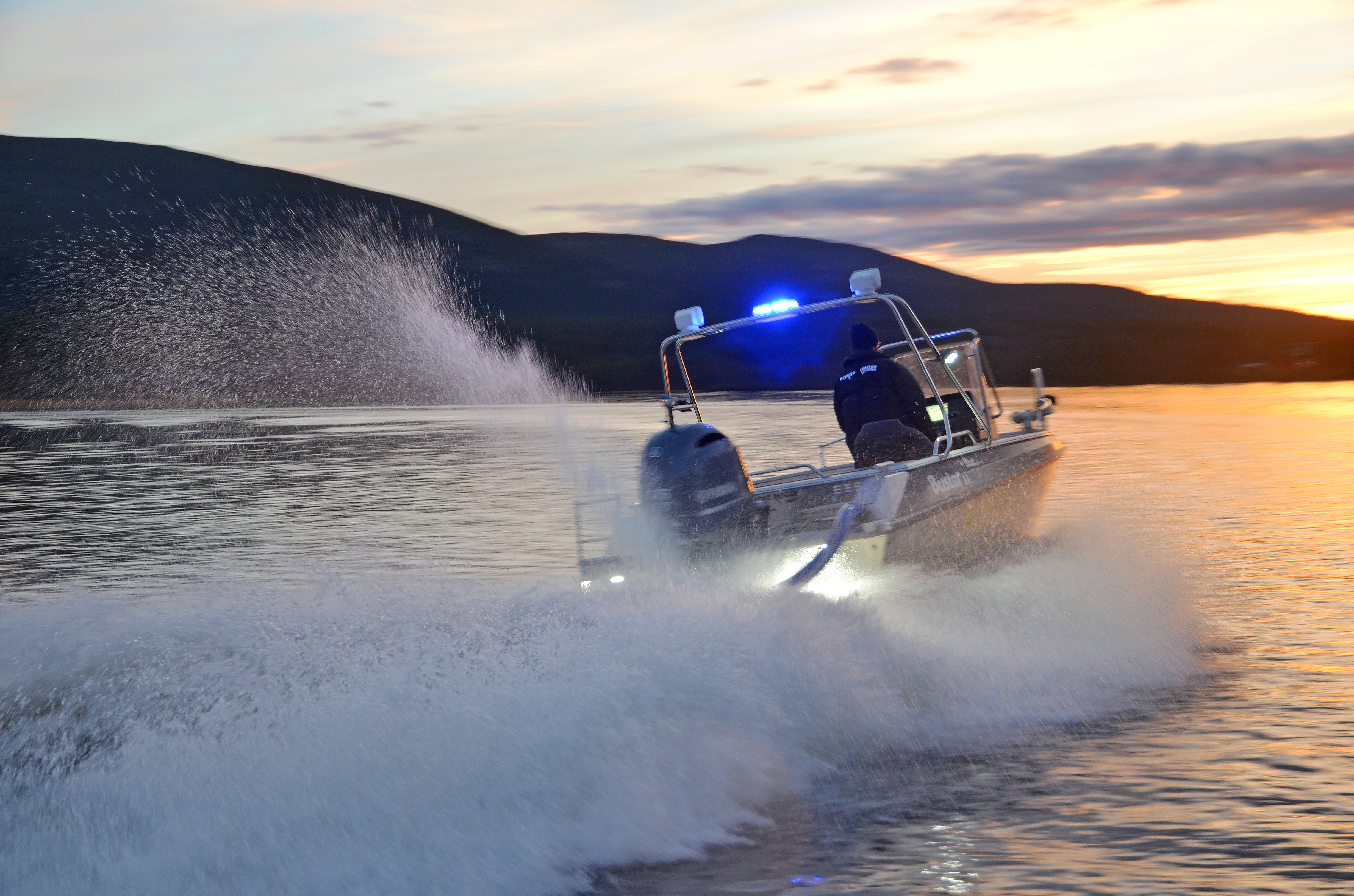 Nordic Rescue Boat jetmotor