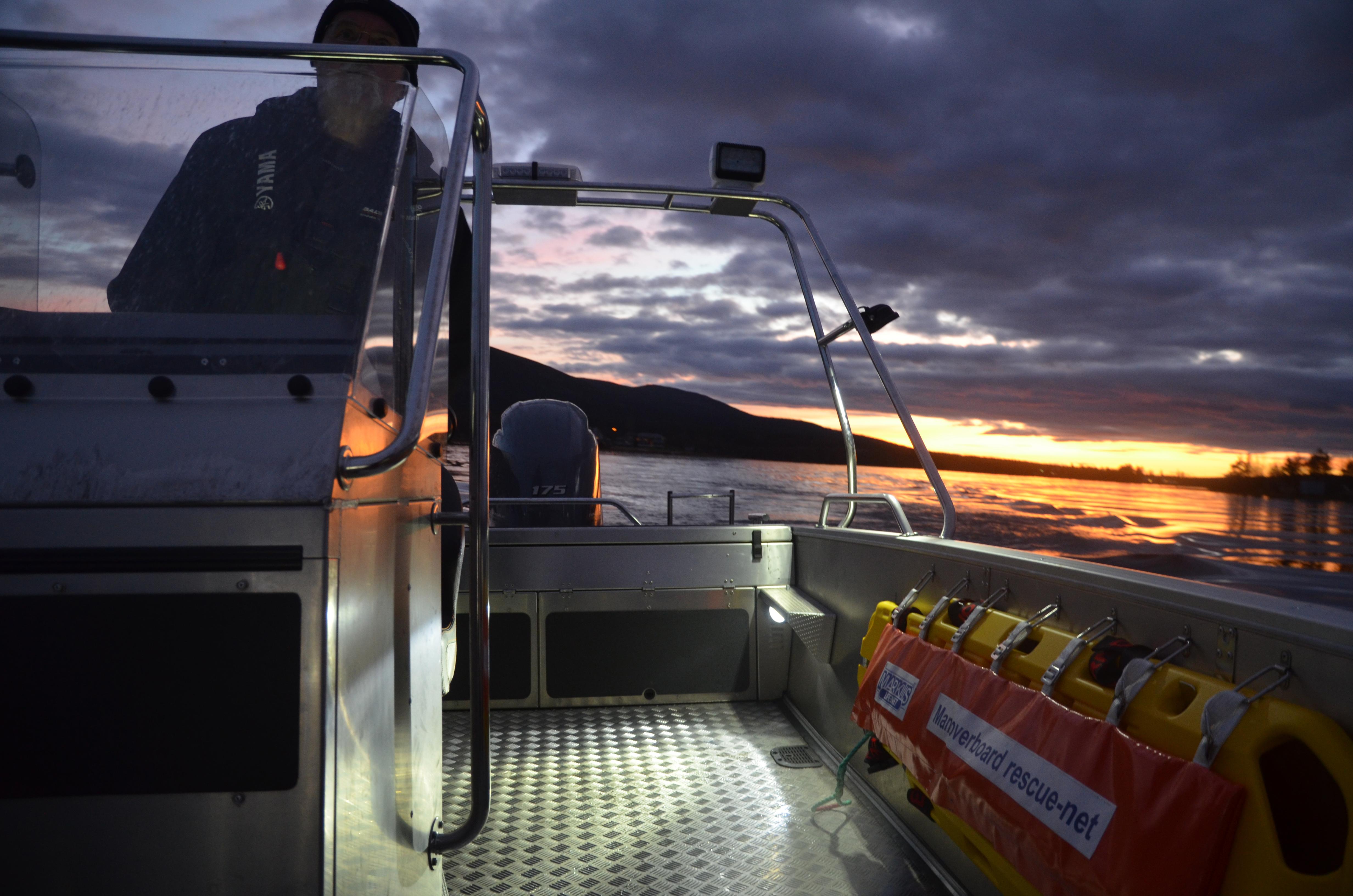 Räddningsutrustning ombord