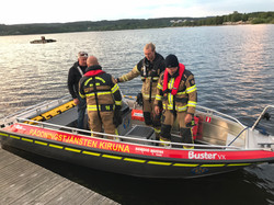 Brandkåren provkör Nordic Rescue SAR