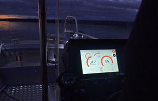 Buster Q navigatio in Nordic Rescue Boat