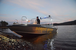 nordic rescue boat vid land