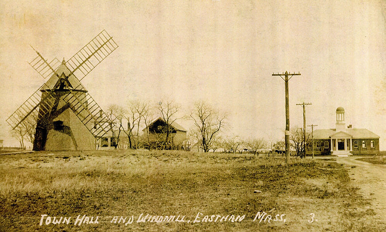 Town Hall & Windmill, Eastham MA