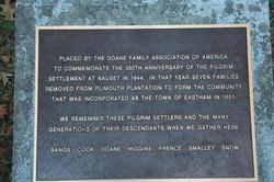 Doane Family Plaque