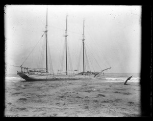 Wreck of Parrsboro Vessel at Nauset, Eastham, MA