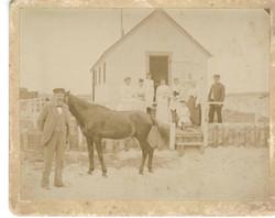 Hopkins cottage at Nauset Beach July 15, 1894