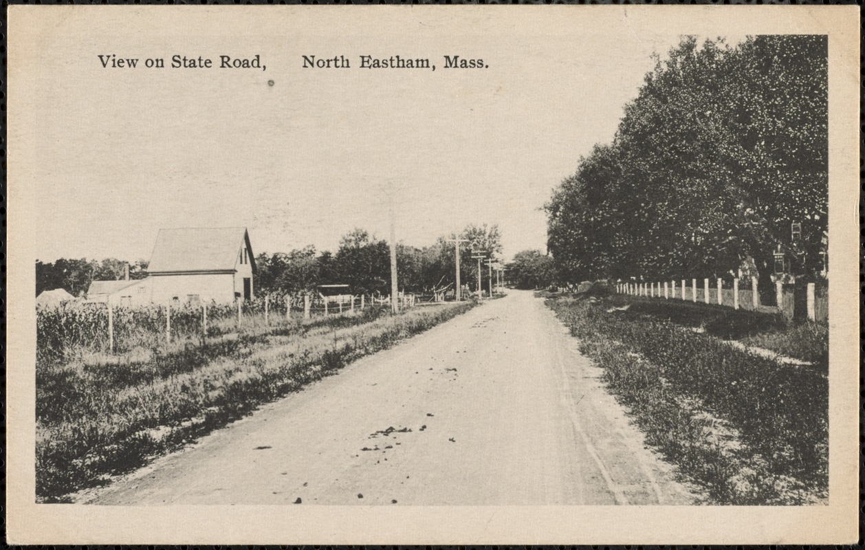 View on State Road, North Eastham, MAA
