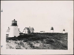 Three Sisters Lights in Eastham, MA