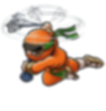 Shadow Strike Orange Ninja