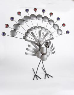 Repurposed parts Peacock