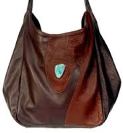 Leather and Cabochon Bags