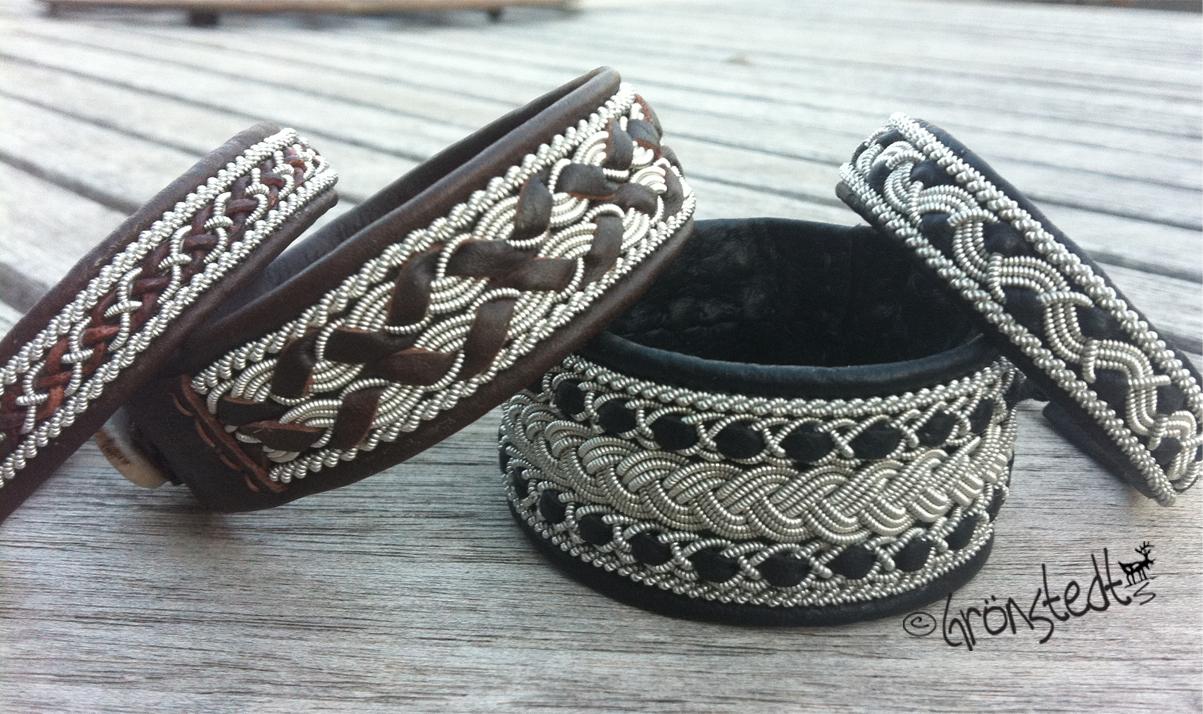 Saami Leather Bracelets