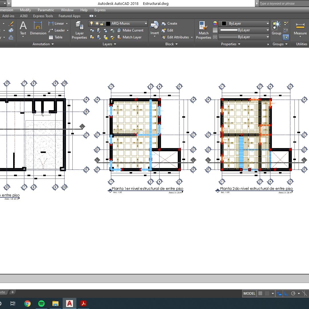 Planos Estructurales