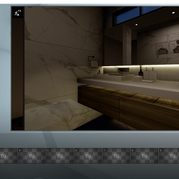 Render Baño 2