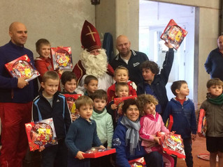 Visite de Saint Nicolas au CIF ce 07 décembre