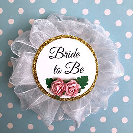 Bride to Be Corsage