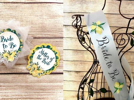 Lemon Theme Bride to Be Ideas