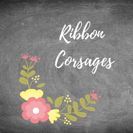 Ribbon Adorned Corsages