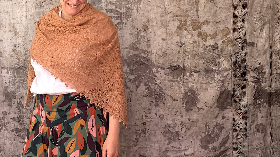 Virvelvind - Shawl (Pattern) - English version - PDF