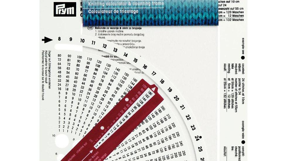 Prym Calculateur de tricotage