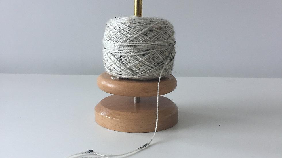 Support rotatif en bois pour pelote