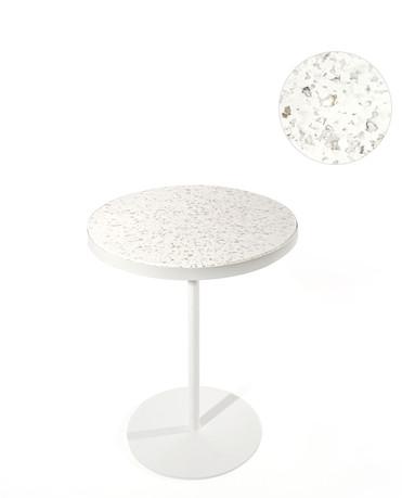 Table bistrot bidon de lessive