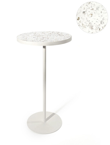 Table haute bidon de lessive