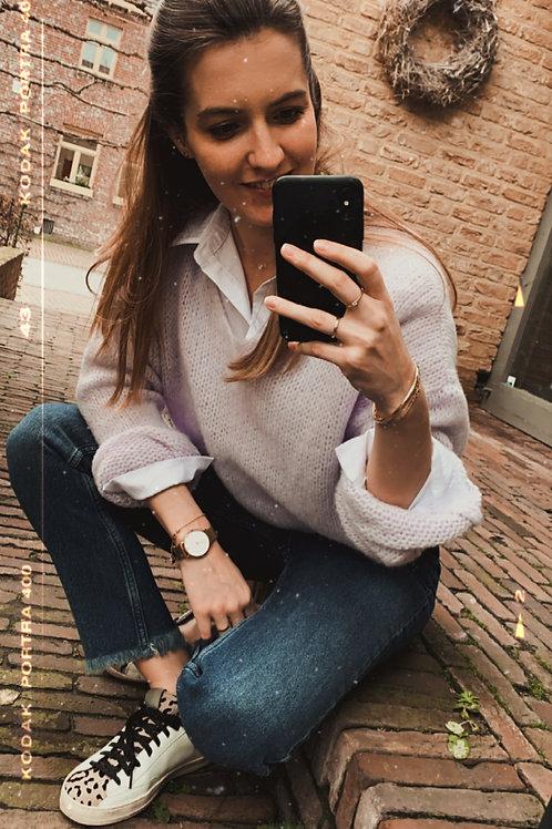 Lila V-Sweater