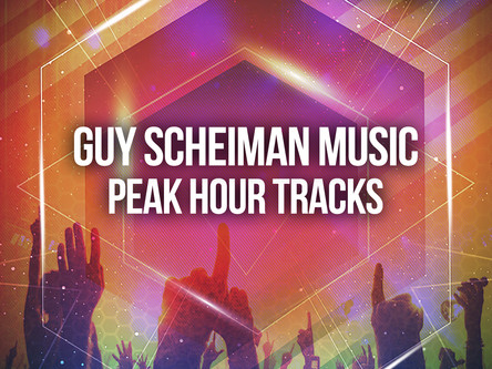 OUT NOW ON ALL THE MAJOR STORES GUY SCHEIMAN MUSIC 9TH RELEASE -PEAK HOUR TRACKS
