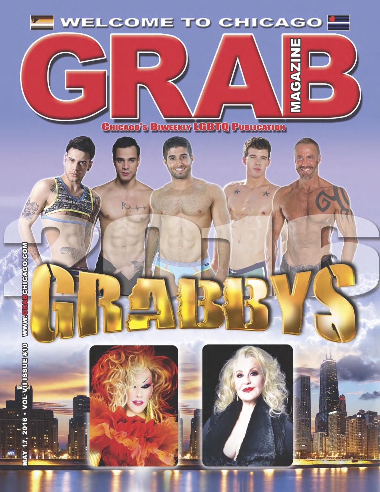 May 17, 2016 - Grab Magazine - cover