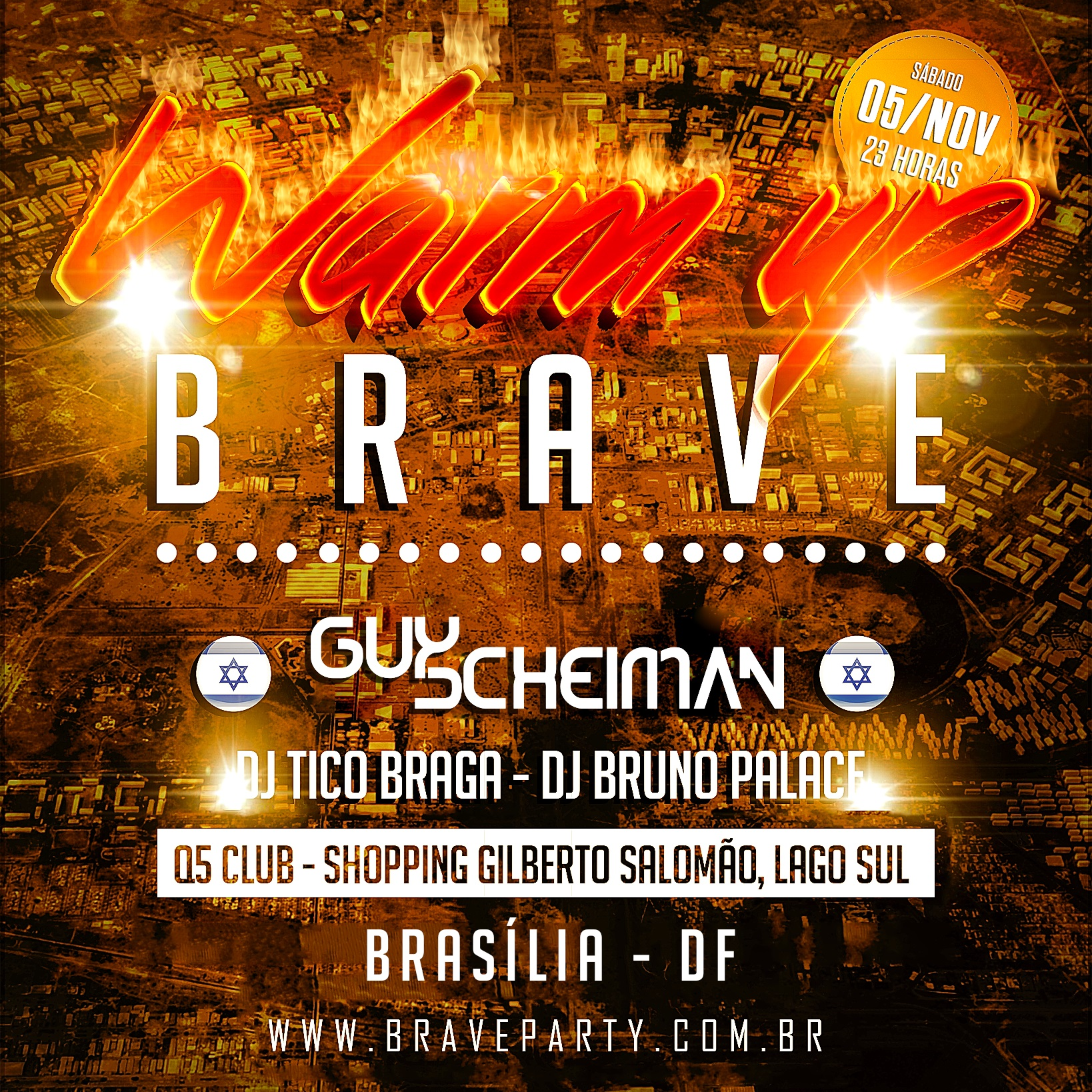 warm up brave quadrado