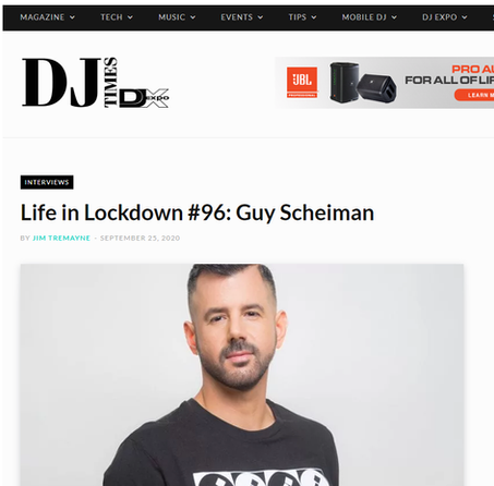 THANK YOU DJTIMESMAG FOR THE GREAT ARTICLE