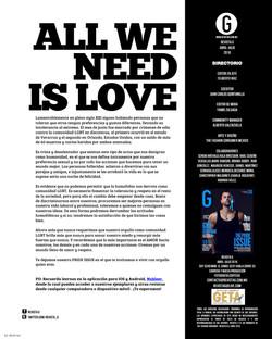 July 2016 - G Magazine - editors page
