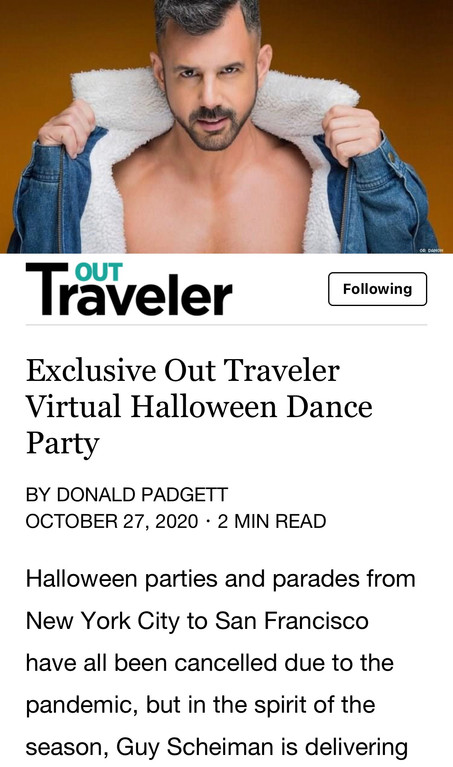 CHECK OUT MY NEW HALLOWEEN PODCAST EXCLUSIVELY MADE FOR 'OUT TRAVELER'