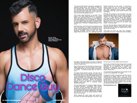 THANK YOU 'PEACH MAGAZINE' FOR THE GREAT ARTICLE!