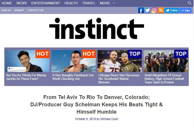 instict headline