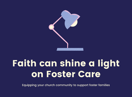 5 ways the Church can impact those in foster care right now!