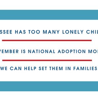 November- National Adoption Month