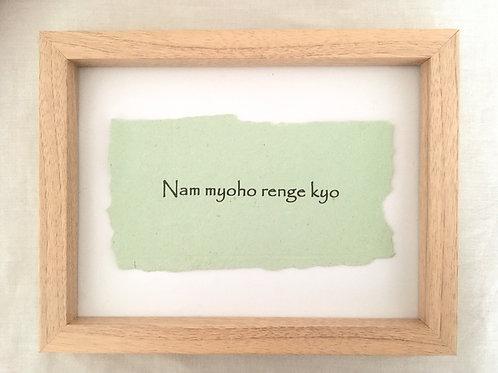 Nam Myo Renge Kyo
