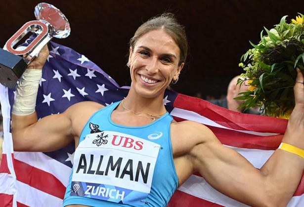 Valarie Allman in Zurich