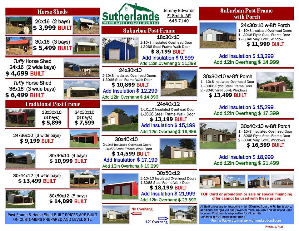 Sutherlands Post Frame Ad LTRSZ rev01072