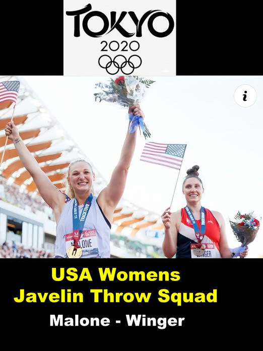 USA Womens Javelin Throw Squad