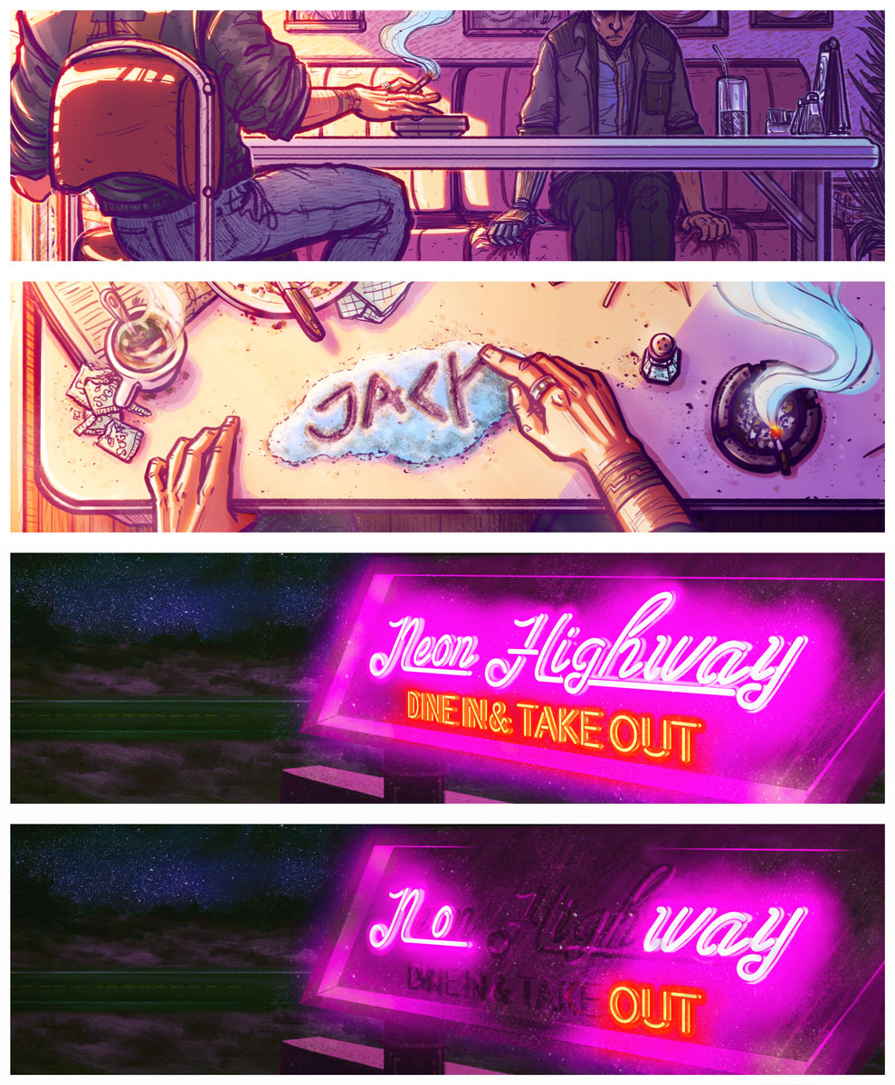 Neon Highway Snippets