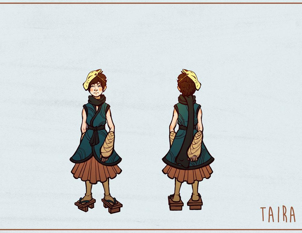 Taira Character Sheet